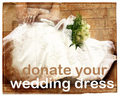 Donate Your Wedding Dress